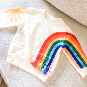 Other - Baby Girl's Rainbow Top